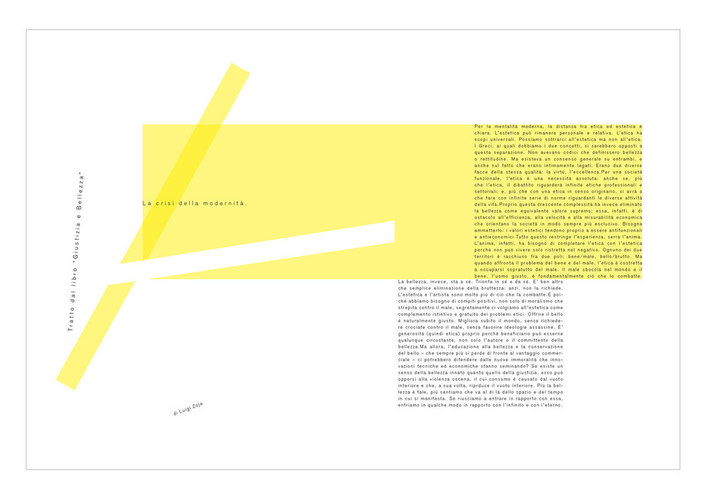 Architettura nella tipografia | Workshop con Felix Humm
