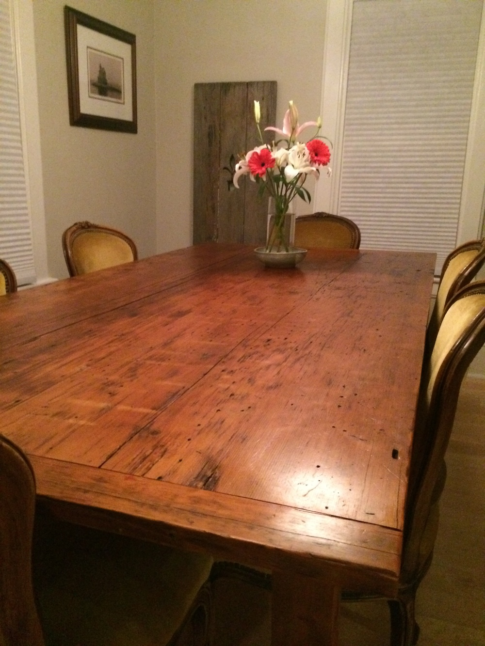 Reclaimed Farm Table