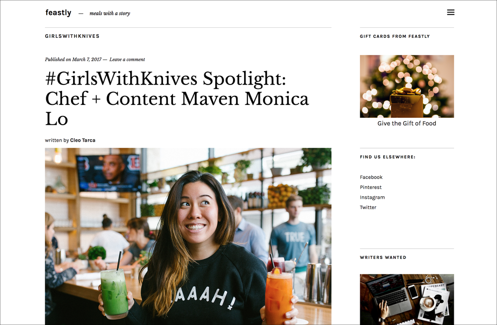 #GirlsWithKnives Spotlight