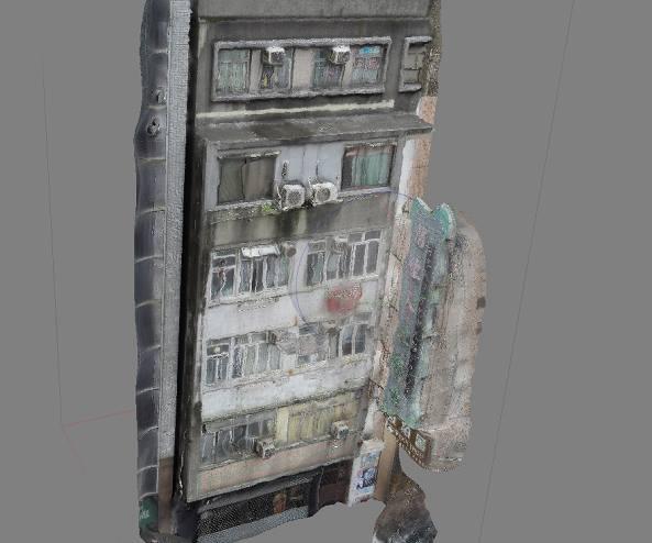 3D scan building