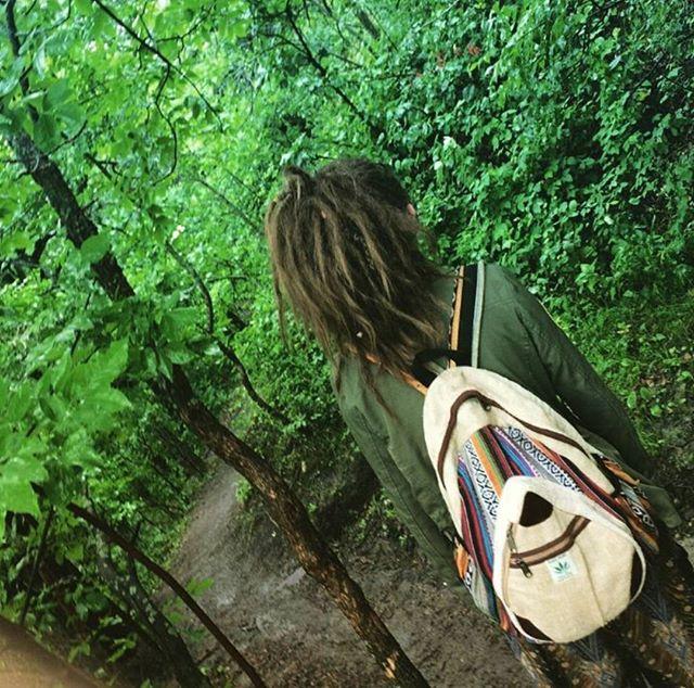 @wood.land.fairy in the 🌲 with her Hempack Droplet 🌻#droplet #hempacks