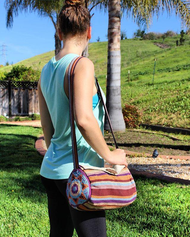 Summer days with the Hempack Shoulder Bag ☀✌ #Hempacks