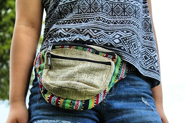 Limited edition: Vistoso Hemp Fanny Pack - Ideal item for a pumpkin patch visit! 😍🎃 #hempacks #journey