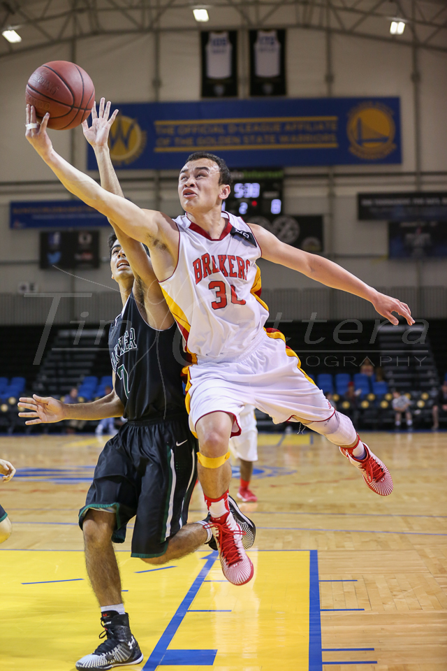 SANTA CRUZ, CA - JANUARY 28: Pacific Grove High vs Harker High School Basketball on January 28, 2015 Santa Cruz, California. (Photo by �Tim Cattera Photography)