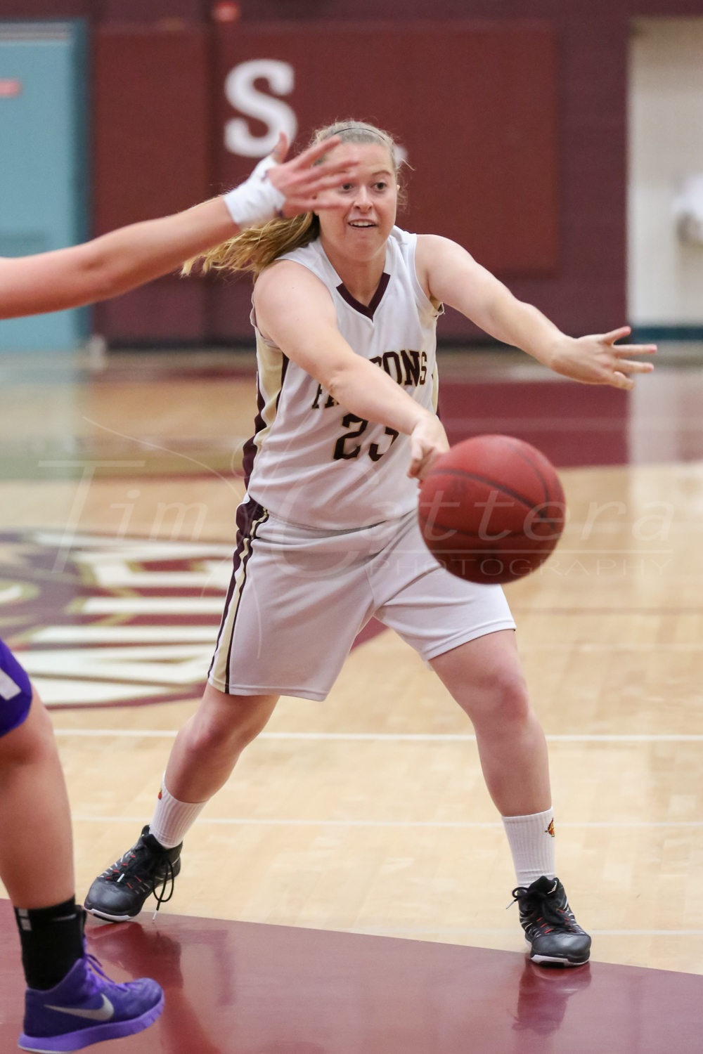 SCOTTS VALLEY, CA - MARCH 17: Scotts Valley High vs Piedmont High Girls Basketball on March 17, 2015 Scotts Valley, California. (Photo by ©Tim Cattera Photography/Local Sport Moments)