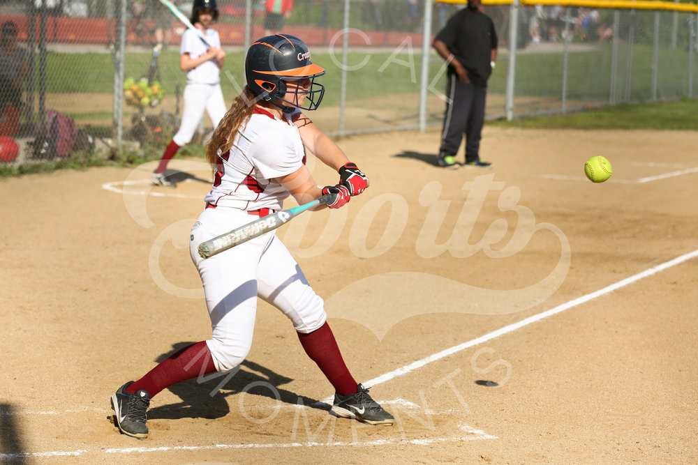 SANTA CRUZ, CA - MARCH 30: Santa Cruz High vs Harbor High School Softball on March 30, 2017 Santa Cruz, California. (Photo by https://localsportsmoments.squarespace.com/ Tim Cattera Photography)