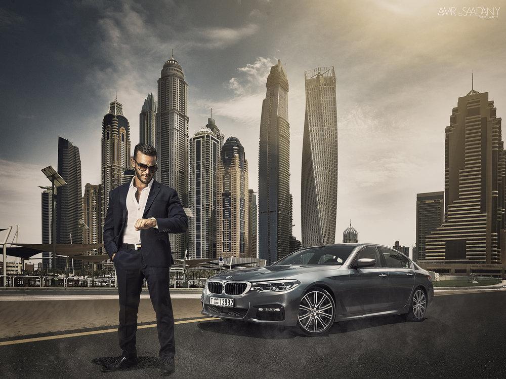 BMW 540i Dubai