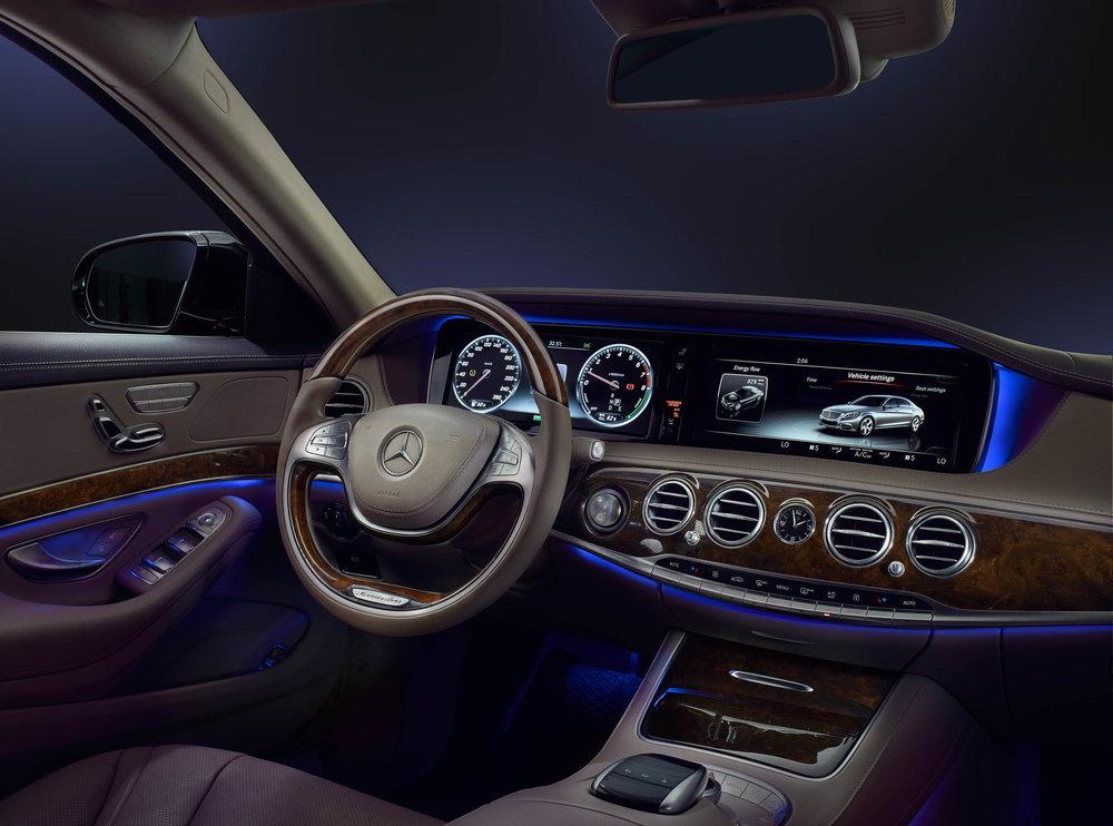 Mercedes S400 Interior