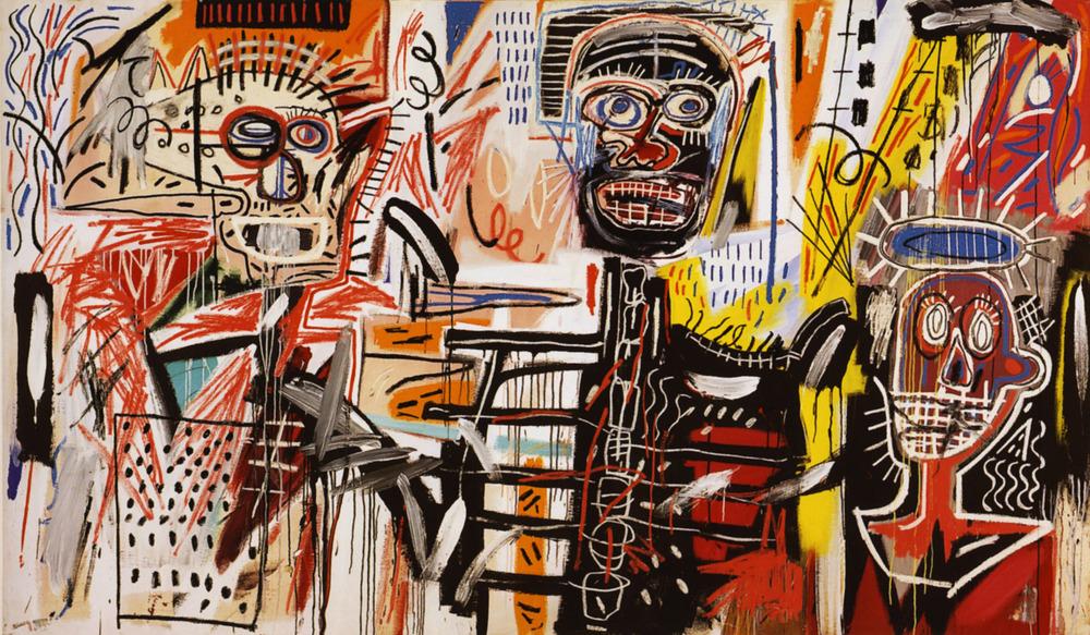 """Philistines"" byJean Michel Basquiat"
