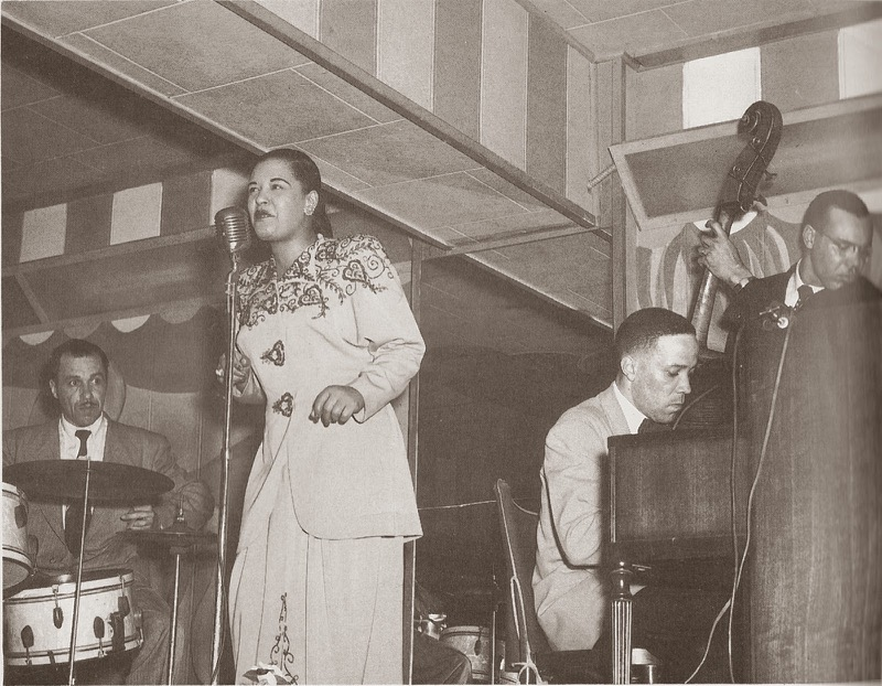 My grandfather, Bobby Tucker, on piano accompanying the great Billie Holliday
