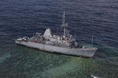 USS_Guardian_aground_in_January_2013