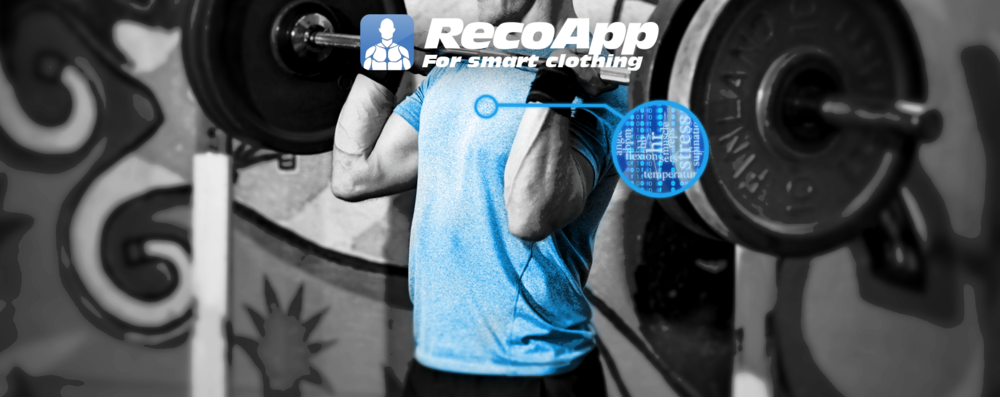 RecoApp delivers an easy and efficient method for interpreting the data from your Smart Clothing