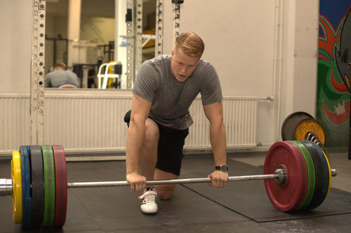 Joona Heino, rest between deadlift sets