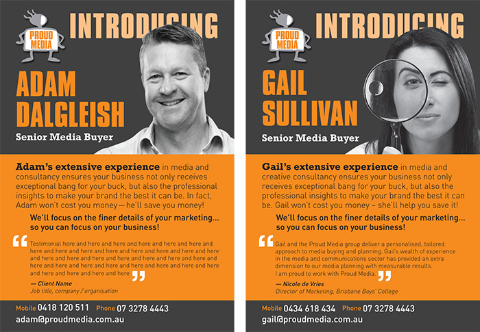 A5 flyer designs for office marketing