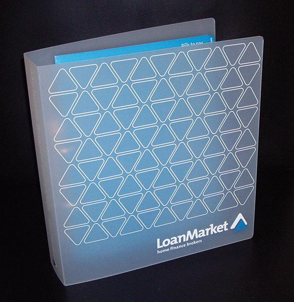Home Finance Organiser folder – custom designed