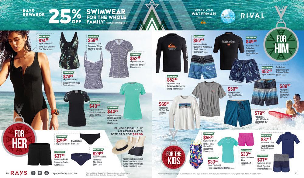 Catalogue spread