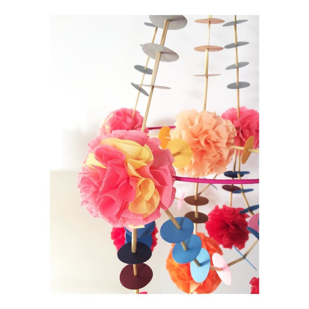 BOBBIN & BOW's Pajaki (pah-yonk-ee) are traditional Polish chandeliers made from rye straw and paper. Bobbin & Bob will be bringing their new spring/summer workshop.