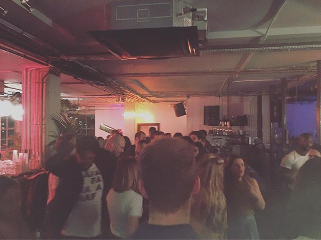 Lights on   tops off @workshopldn does @wiedenkennedy summer party 2k16