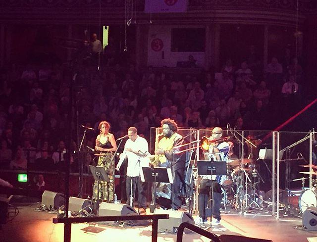 Prom King 👑@kamasiwashington @bbc_proms @royalalberthall #jazz #skills#bbcproms