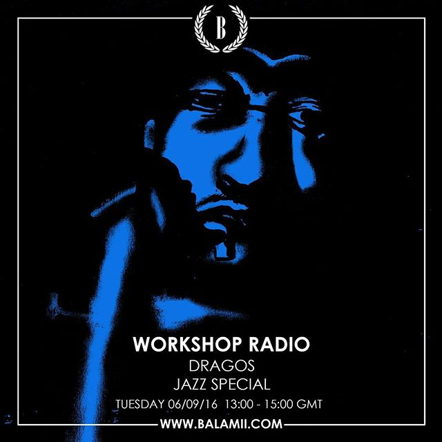 Live on @balamii tomorrow from 13:00 London time for #workshopradio 008 with a Jazz special supplied by our very own jazz enthusiast @dragoshes . Tune in tomorrow for a delightful lunchtime listen 📡📡📡