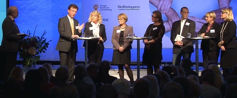 "Swedish eHealth Annual video documentation and re-broadcast of the event ""National e-Health"" in Stockholm. Read more"