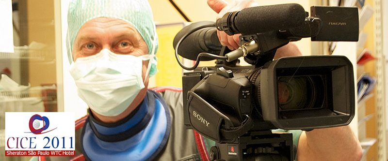 CICE, Sao Paulo, Brazil Open heart surgery broadcast live via satellite from the university hospital in Örebro, Sweden, to Sao Paulo, Brazil. Read more