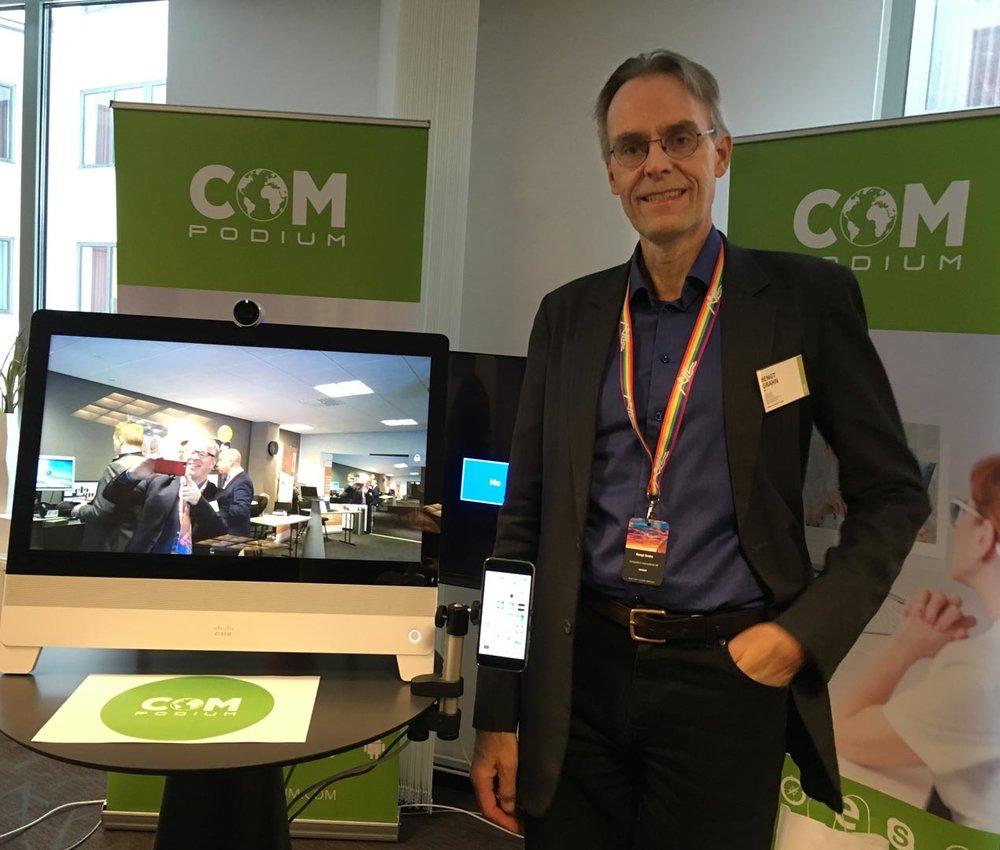 Bengt Grahn, CEO Compodium
