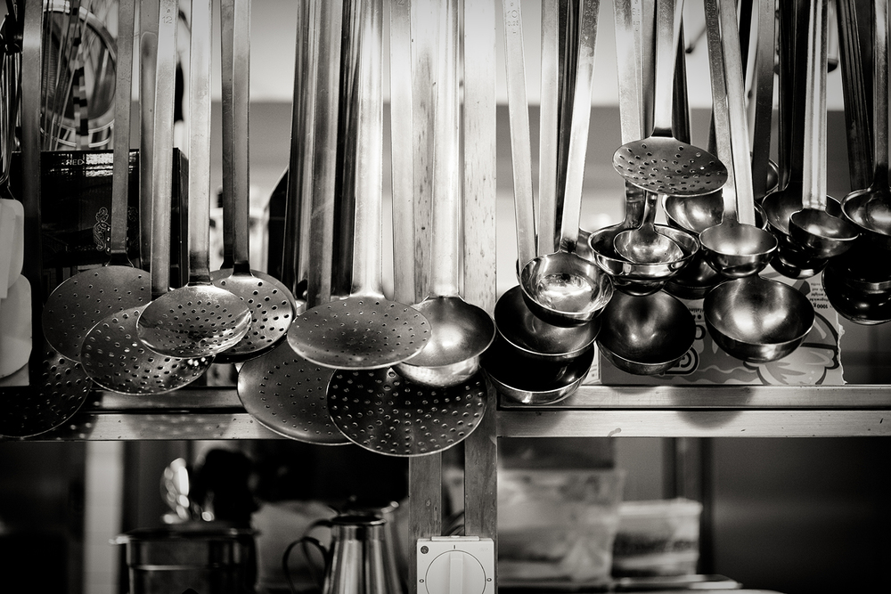 Slevar i köket