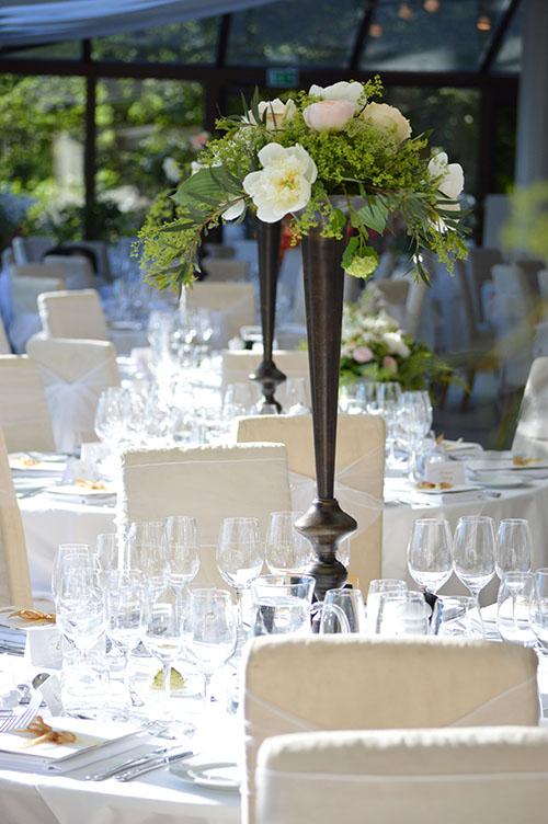 Bröllopsmiddag på Sofiero