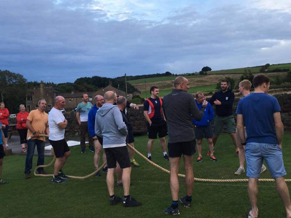 Tug-o-War at Barkisland Cricket Club - 13th July 2017