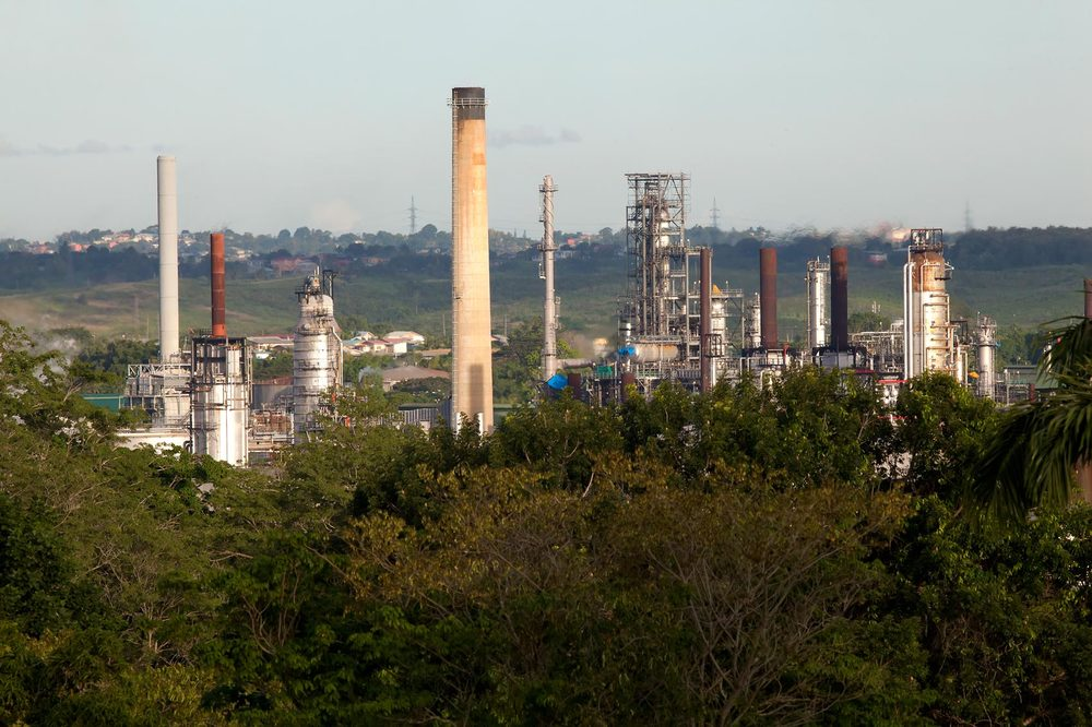 The Point Fortin Petrotrin estate.  Photo by Chris Anderson
