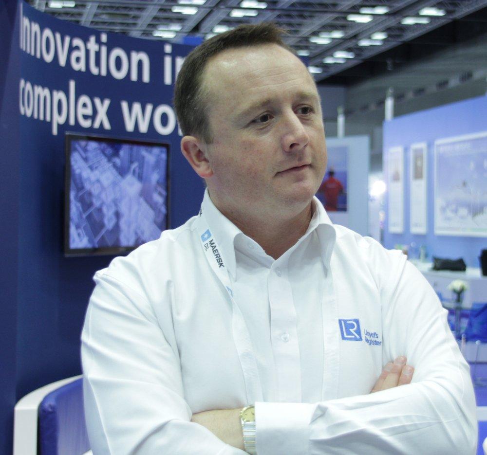 Peter Richards - Vice President Marketing & Communications Energy Division, Lloyd's Register