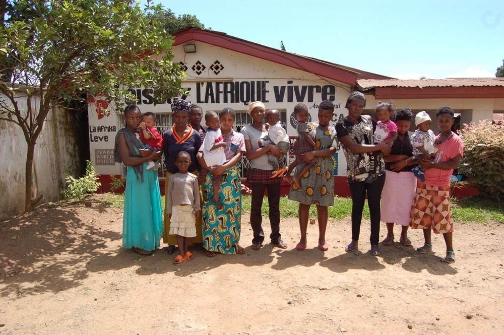 La Afrika Leve senteret i Bukavu.