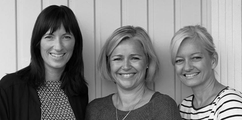 De nye styremedlemmene Fra venstre: Anette Wiborg, Tonje Aronsen og Vera Eriksrød.