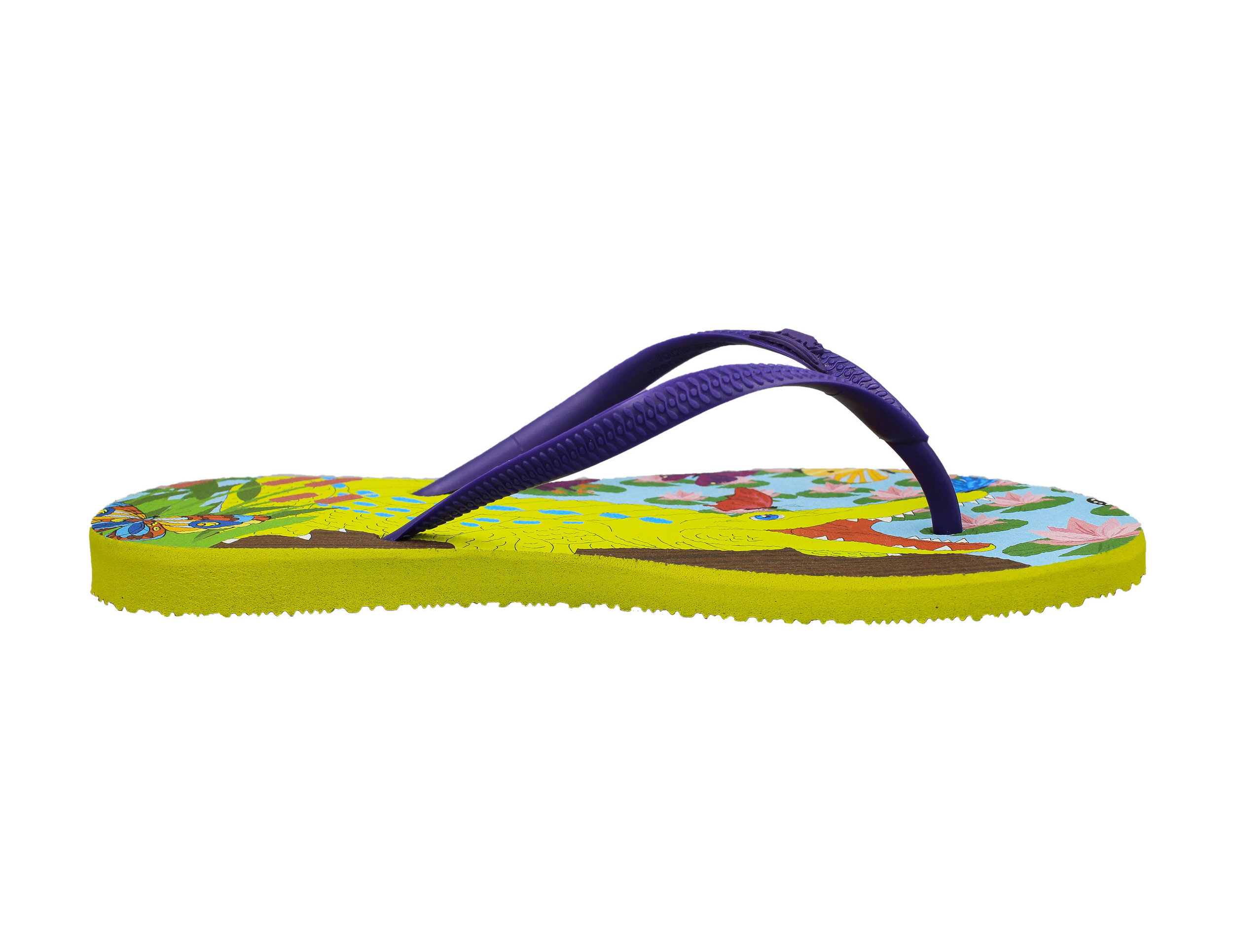 b6d6eb448 Snappy Croc. Crocodile flip flop