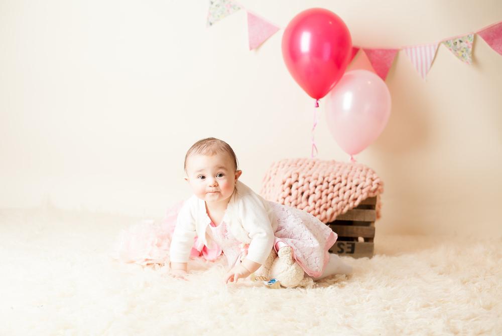 Fun 1 Year Baby Portraits Toronto