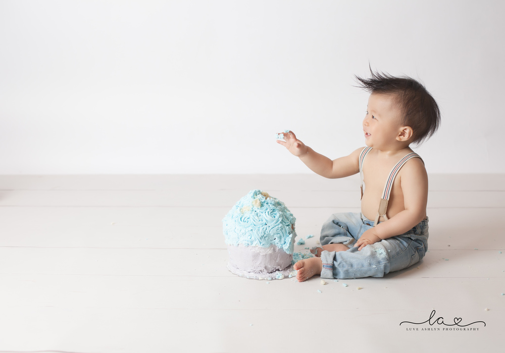 Smiling Asian Baby Photography