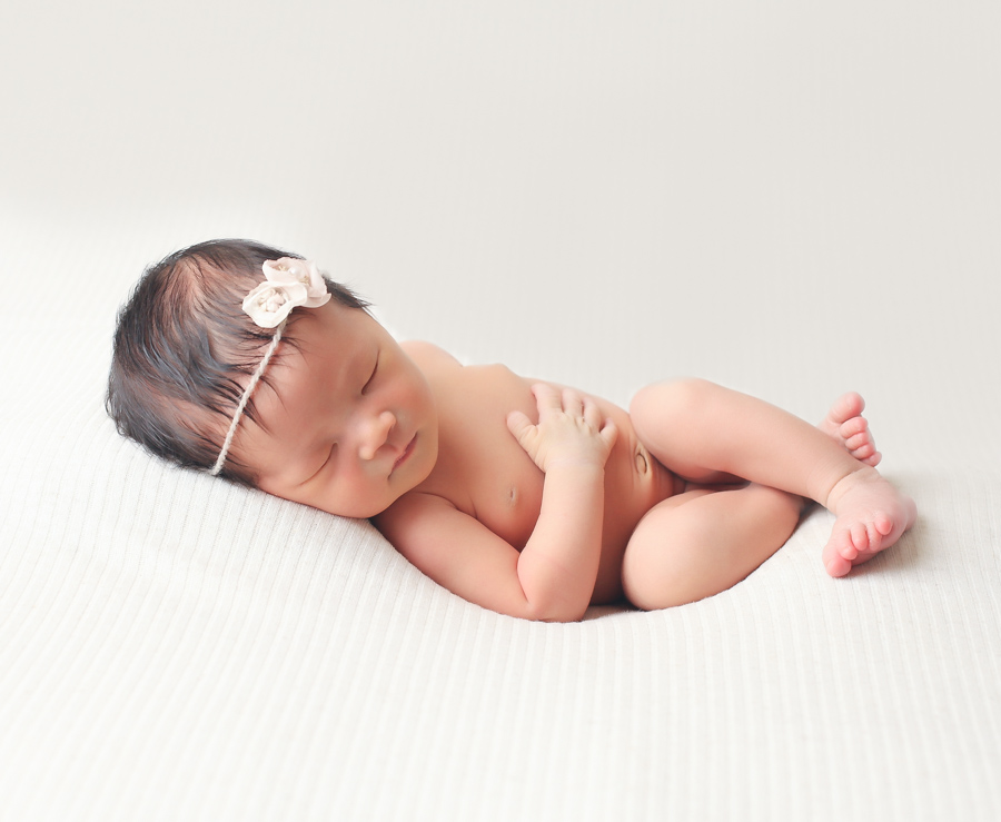 Cute Newborn Baby Photography Toronto