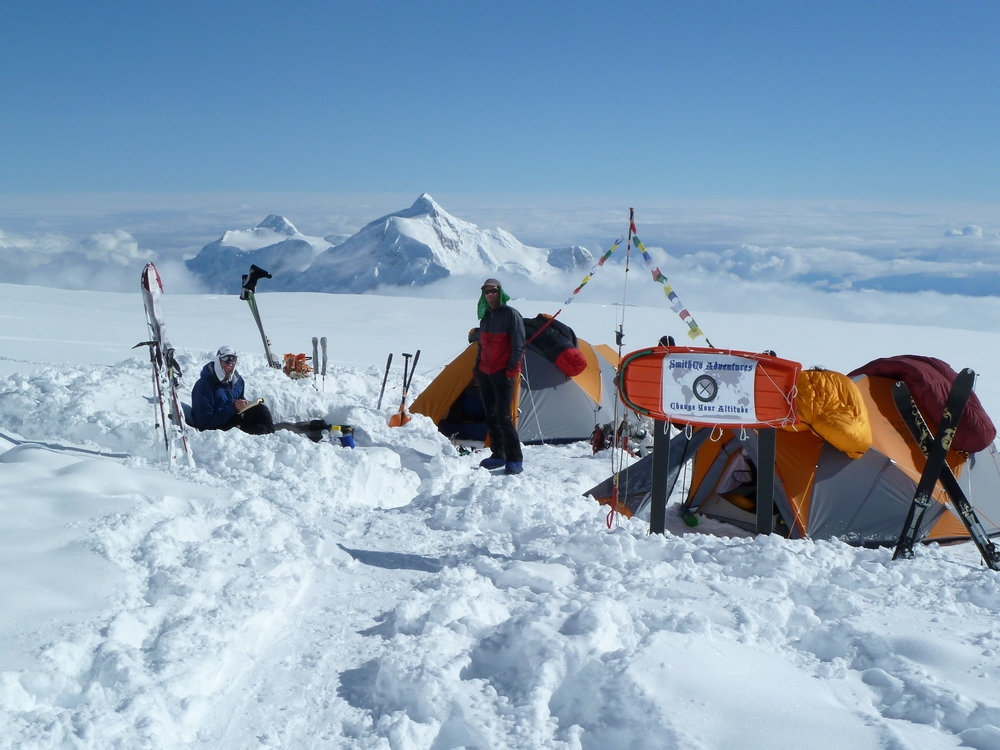 Camp 4 on Denali
