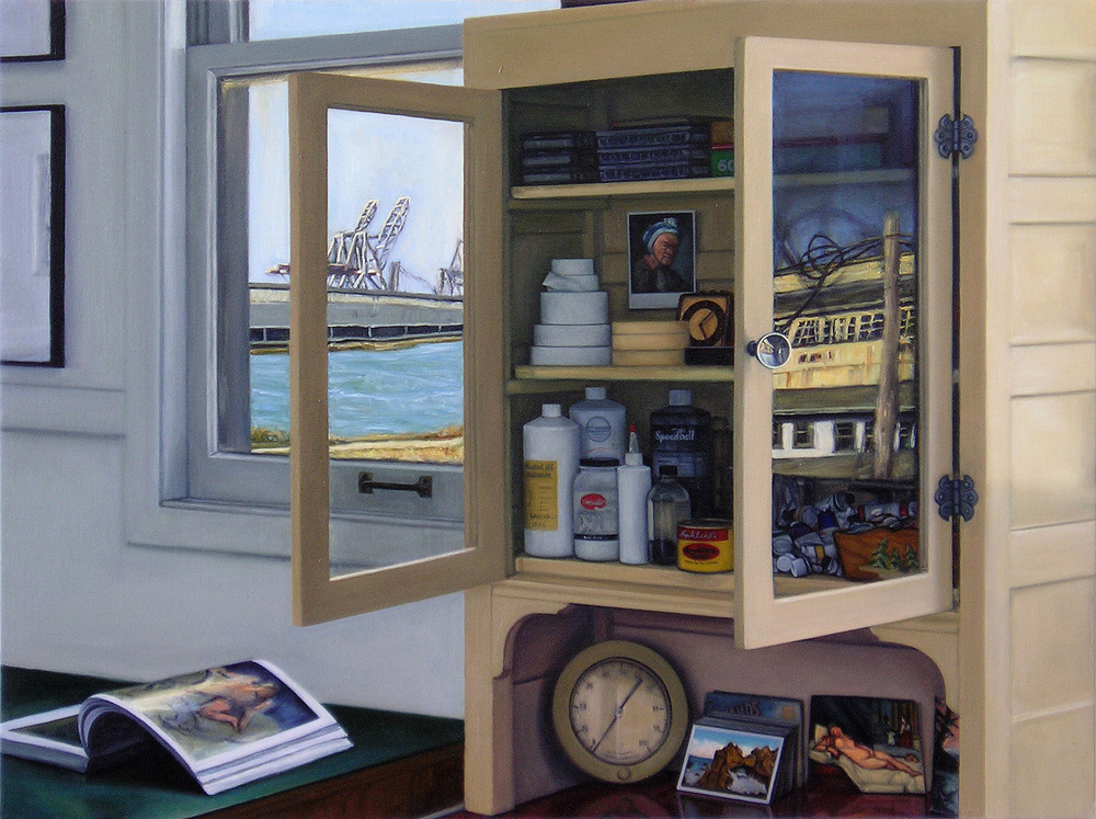 Cabinet with Windows, Reflection