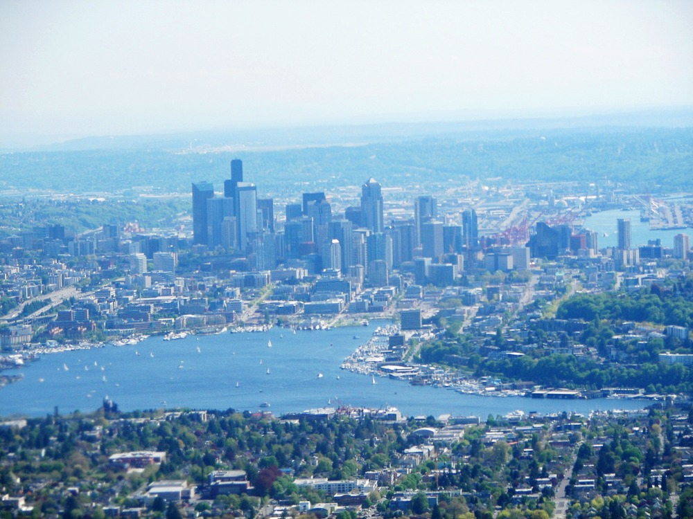 Lake Union: The heart of beautiful Seattle, Washington