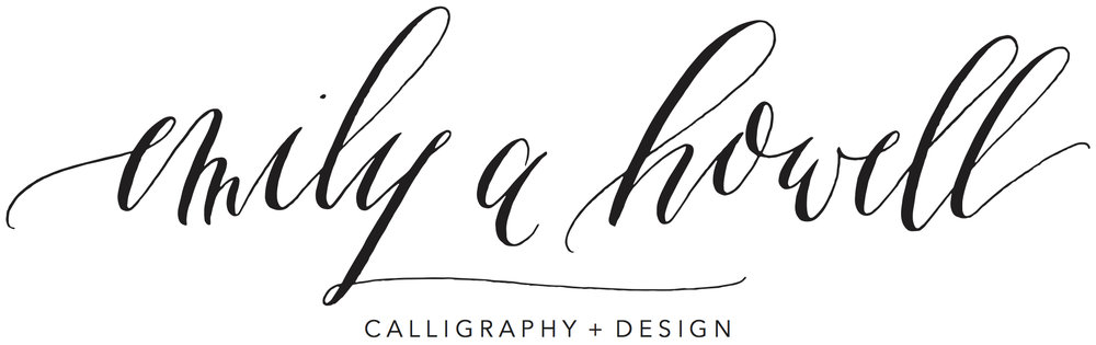 Emily A Howell Calligraphy Design