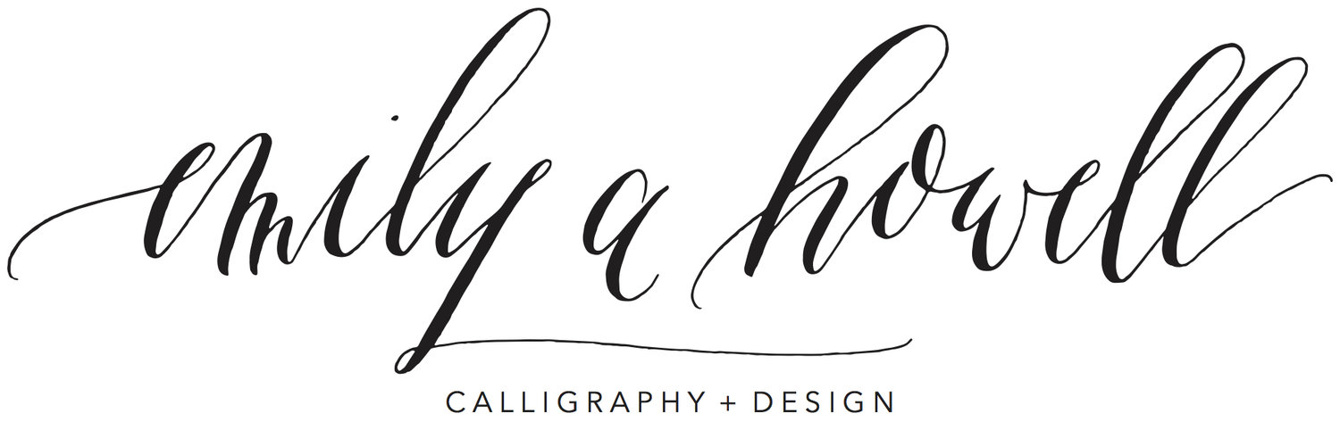 Emily A Howell Calligraphy + Design