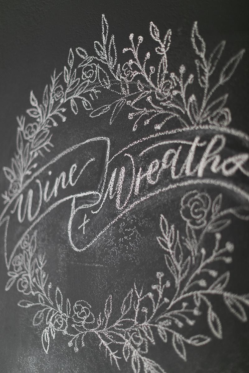 chalk calligraphy