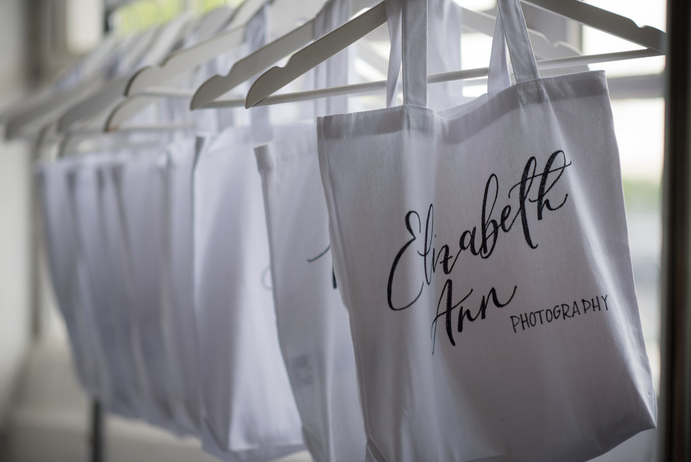 calligraphy totes