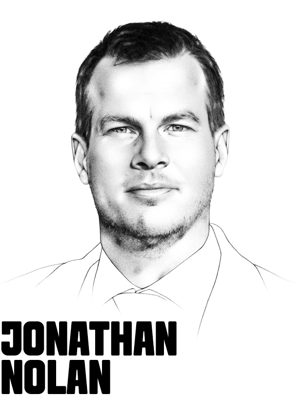 Co-Creator, Co-Showrunner, & Exec. Producer, Westworld Jonathan Nolan crafts stories that explore both the power and mysteries of technology. As half of the visionary team propelling HBO's ground-breaking western sci-fi thriller Westworld, Nolan uses his popular television and film projects to examine subjects like artificial intelligence, human-machine relationships, and the ethics of machine learning. He saw early success (and an Academy Award nomination) by co-writing Memento alongside his brother, Christopher. As a writing team, the duo has also racked up writing credits for The Prestige, The Dark Knight, The Dark Knight Rises, and Interstellar. With his wife, Lisa Joy, Nolan runs production company Kilter Films. Nolan and Joy are currently working on Season 2 of Westworld while also juggling various film projects.