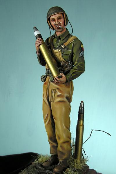 Tank Sergeant -Greg Liebert