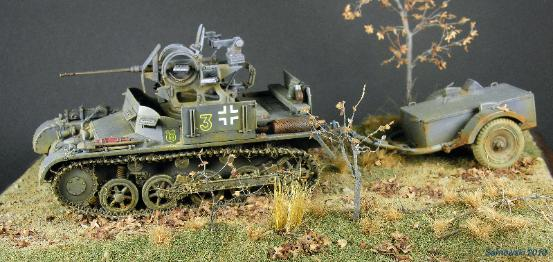 2cm Flak Panzer Larry Peters