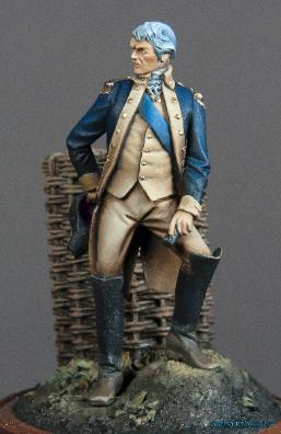 Rev War Officer Bob Sarnowski