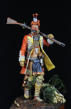 Iroquois Warrior 1760 Jason Whitman